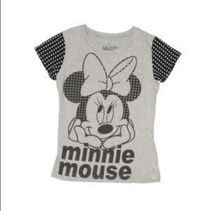 Disney Minnie Mouse Polka Dot Tee M